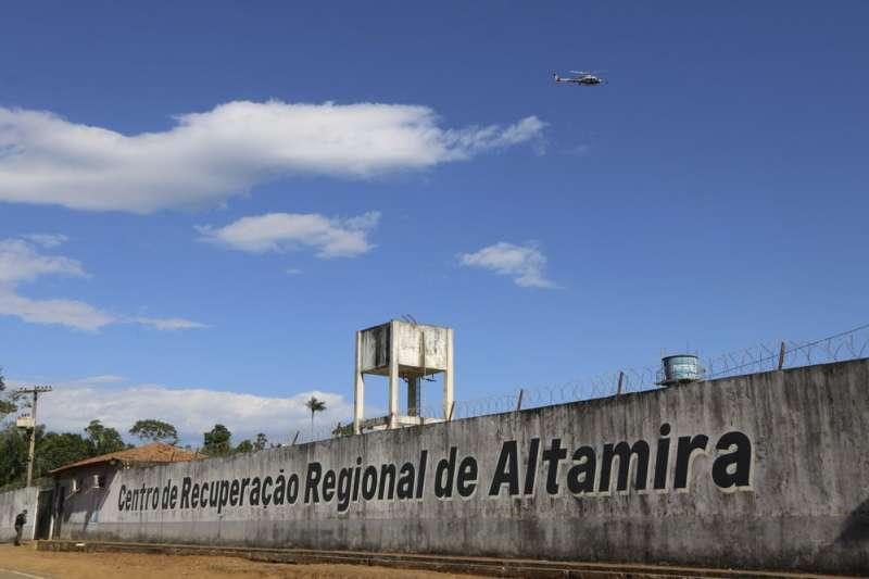 2019年7月29日,巴西北部阿爾塔米拉監獄兩派囚犯爆發血腥衝突,造成57人喪生,其中16人被斬首。(AP)