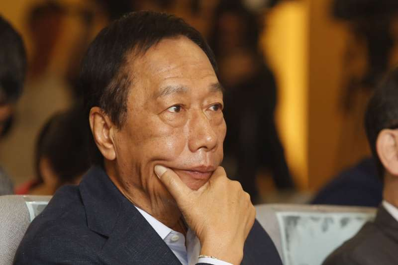 台北市長柯文哲將組台灣民眾黨,郭台銘會不會與柯合作,其動向更受關注。(郭晉瑋攝)