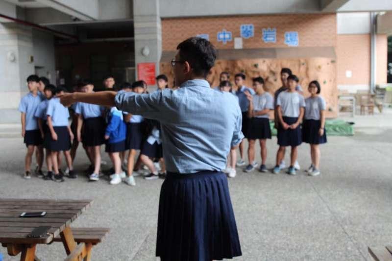 板橋高中日前宣布,新學期起開放男生依自身意願,可以穿裙子上學。(資料照,取自臉書板中學生會)