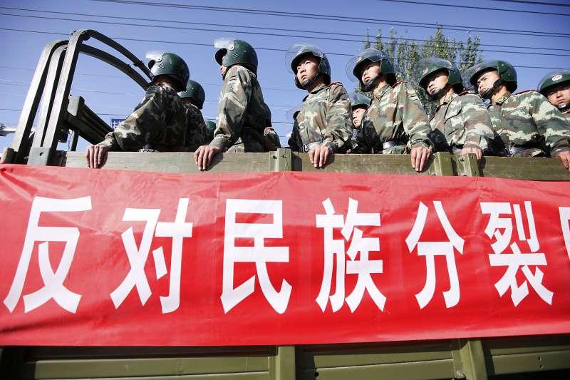 中國壓迫新疆維吾爾人(AP)