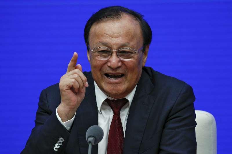 中國新疆自主區主席札克爾(AP)