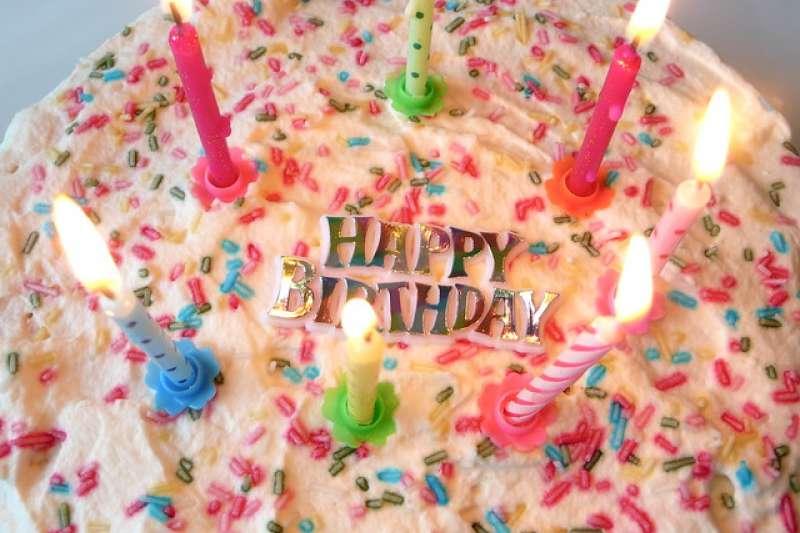 蛋糕象徵路易絲依然年輕的心。(Peter Lindberg@flickr/CC BY 2.0)