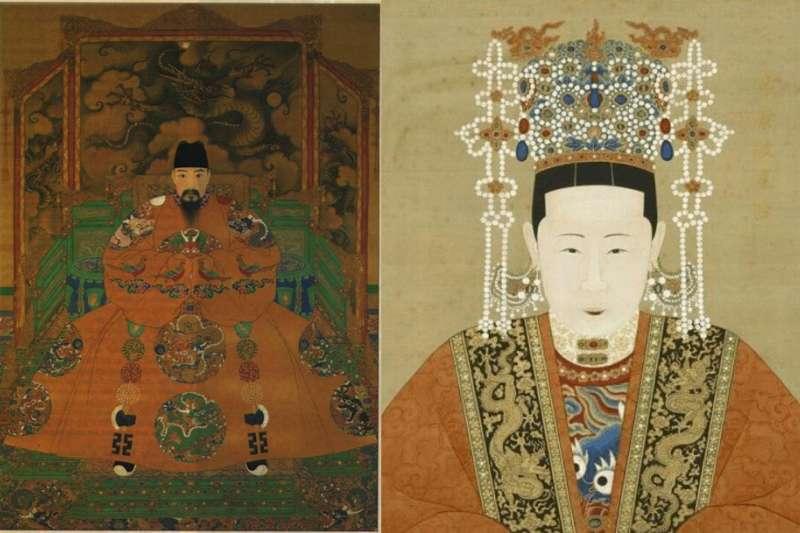 張皇后在《明史》中,是明孝宗一生唯一一個女子。(圖/維基百科)