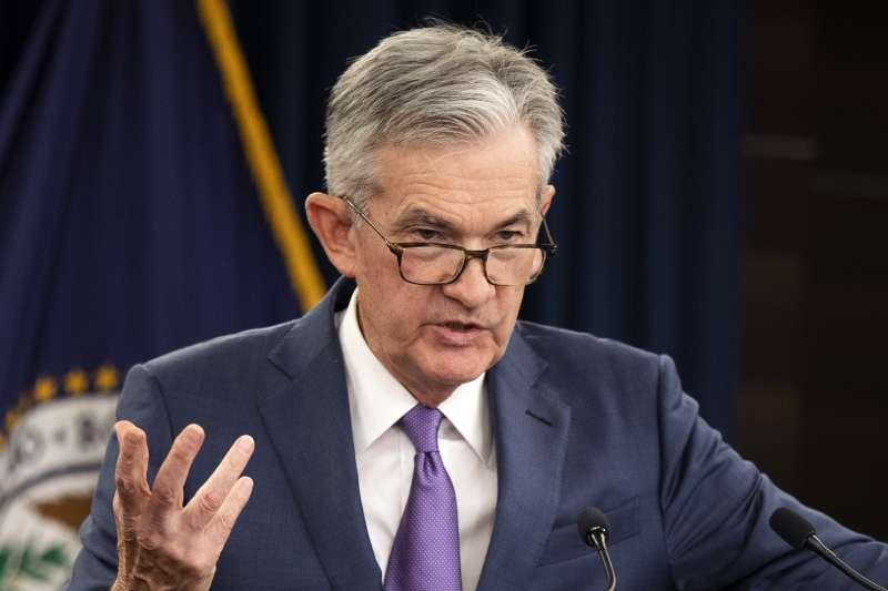 聯準會主席鮑爾(Jerome Powell)在周三會議上重申該央行繼續將基準利率保持在零水平,支持經濟繼續復甦。(AP)