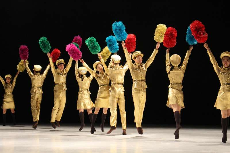 當代舞蹈家安銀美希望藉由《南韓跳,北韓舞》這部作品,讓南與北都能從舞蹈中認識自己。(圖/臺北表演藝術中心提供)
