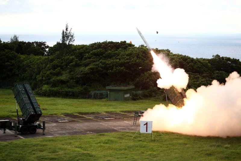 20190802-天弓飛彈。(國防部提供)