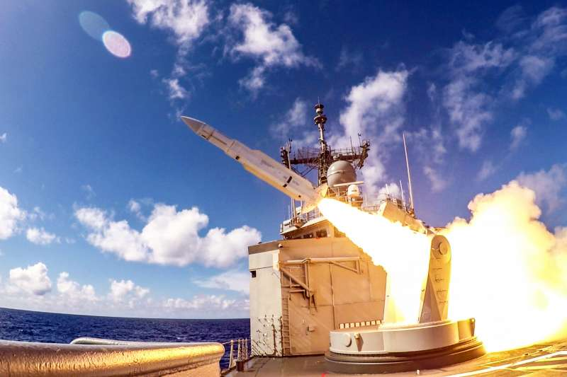 20190802-標一飛彈。(國防部提供)