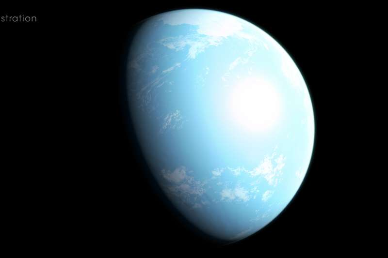 NASA最新發現,地球31光年外的某處,有一顆名為「GJ 357 d」的「超級地球」或許能孕育生命。(取自NASA官網)