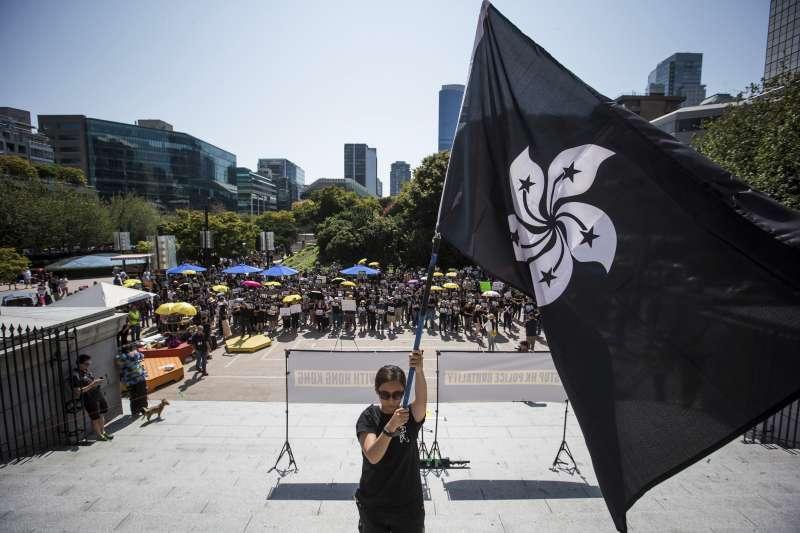 香港反送中持續延燒,民眾發起不合作運動,並進行罷工、罷市、罷課(AP)