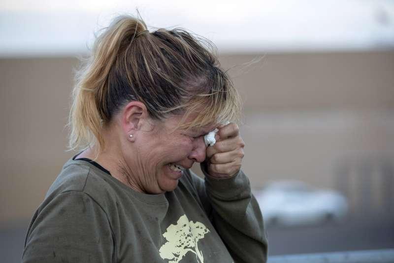2019年8月3日,美國德州帕索槍擊案,造成慘重死傷(AP)