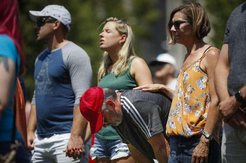 2019年8月4日,俄亥俄州代頓4日發生槍擊案,包括槍手在內共10人殞命,另有至少16人受傷。(AP)
