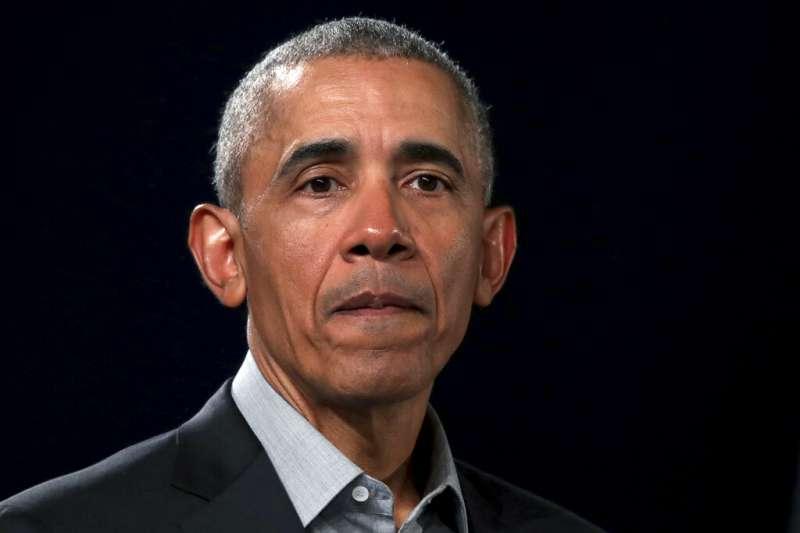 美國前總統歐巴馬(Barack Obama)。(美聯社)