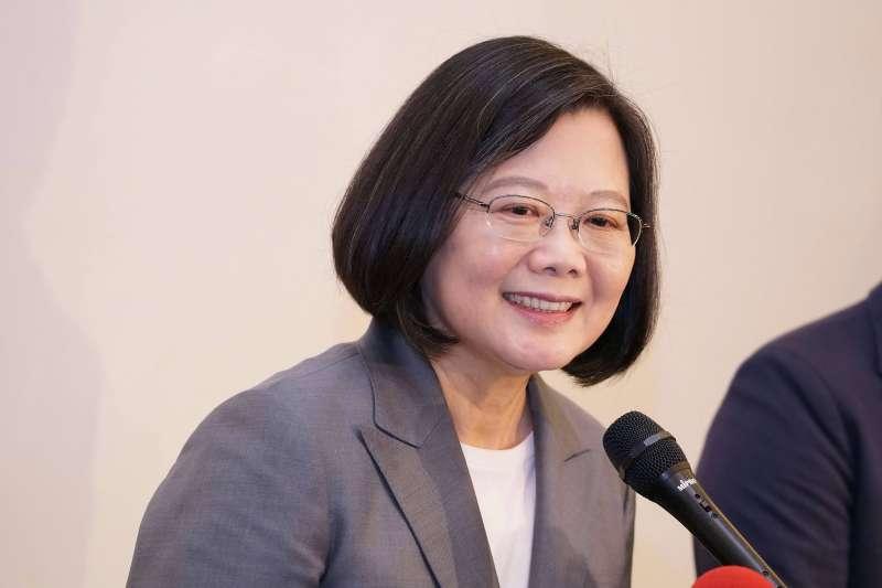 20190806-總統蔡英文出席APPU開幕典禮。(盧逸峰攝)