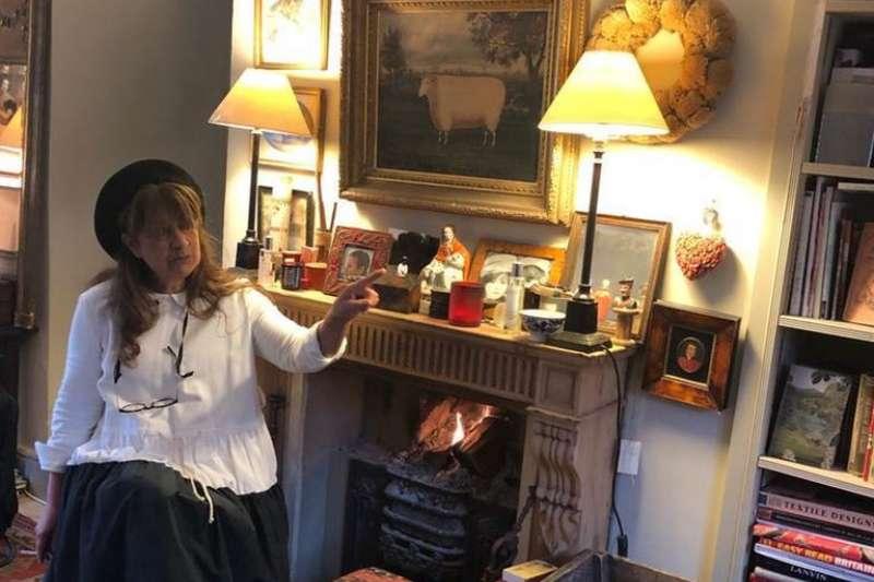 英國時裝名家「不知時尚為何物」的設計人斯特拉特(Christina Strutt)(BBC)