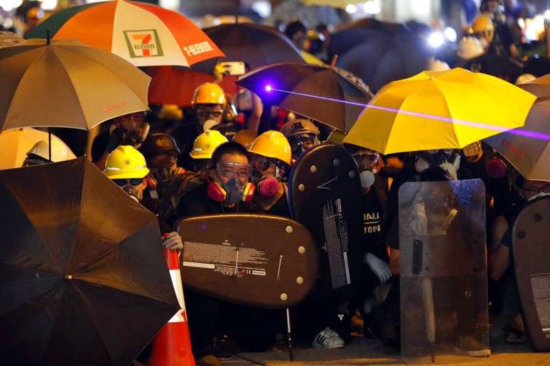 能否緩解香港危機,就在北京當局是否接受香港真「普選」的一念之差。(資料照,美聯社)