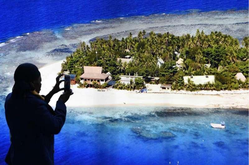 太平洋島國斐濟盼在疫情期間吸引旅遊商機。(美聯社)