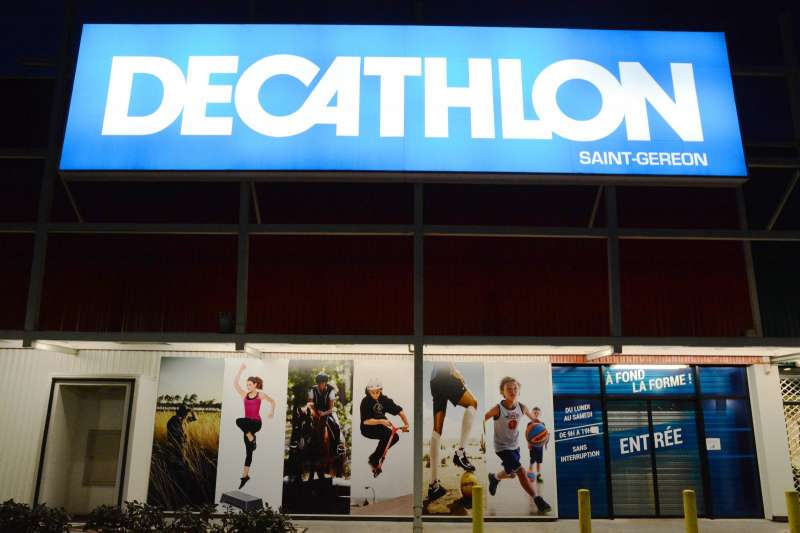 迪卡儂在法國市鎮昂斯尼(Ancenis)的分店。
