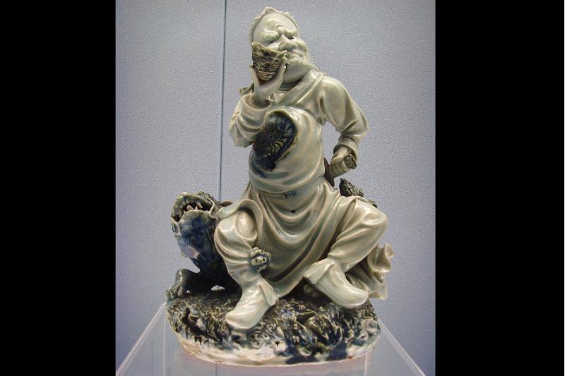 20190807-明代萬曆年間的景德鎮瓷器。(作者提供,取自維基百科,Gerbil )