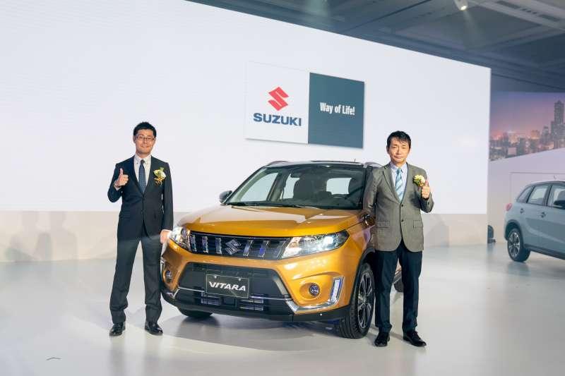 SUZUKI 在今年 8 月份推出旗艦車款 THE NEW VITARA  (圖/SUZUKI)
