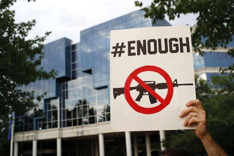 美國日前接連發生兩起大規模槍擊案,激起呼籲槍枝控管聲浪。(資料照,AP)