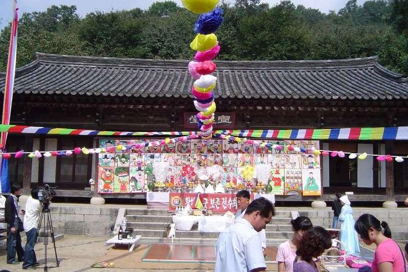 巫教是朝鮮半島歷史最悠久的宗教。(示意ˋ圖/維基百科)