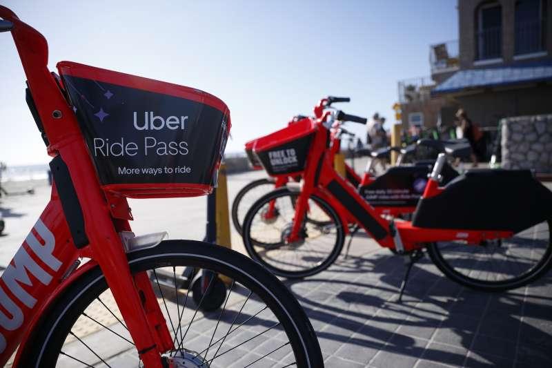 Uber的單車共享服務Jump(AP)