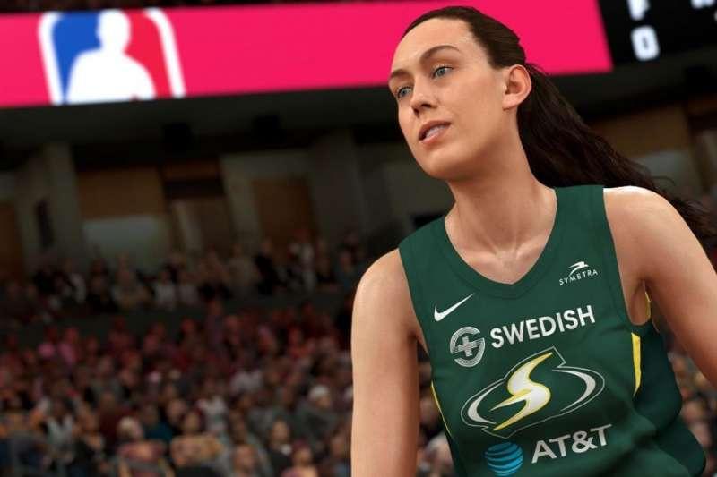 最新款2K遊戲裡有WNBA12支球隊。(取自NBA.com)