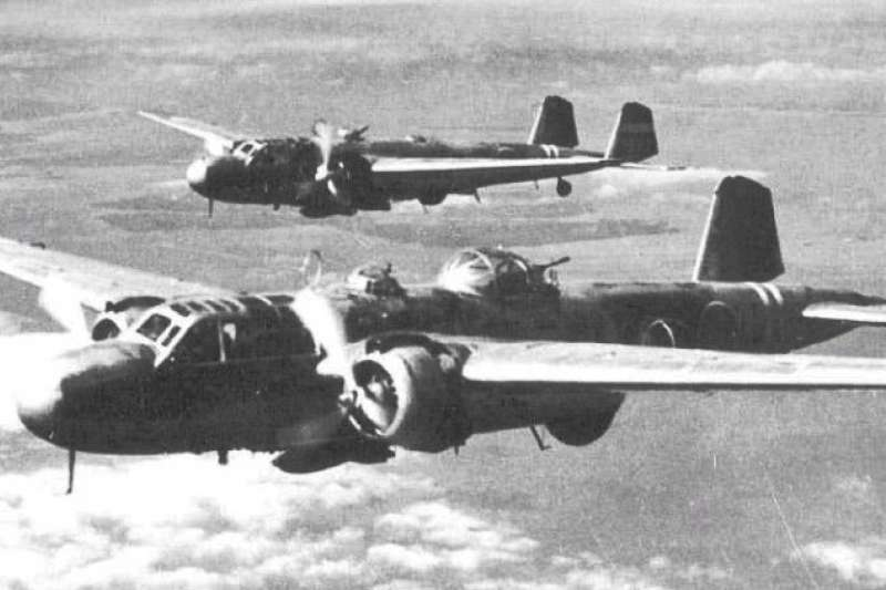 三菱重工(Mitsubishi Heavy Industries)出品的九六式陸攻機(賈忠偉提供)