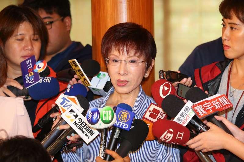選台南立委引發陰謀論 洪秀柱辦公室:多餘的猜測只會使國民黨分裂-風傳媒