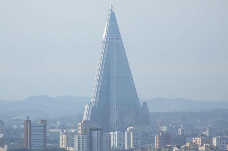 北韓首都平壤的柳京飯店(Nicor@Wikipedia / CC BY-SA 3.0)