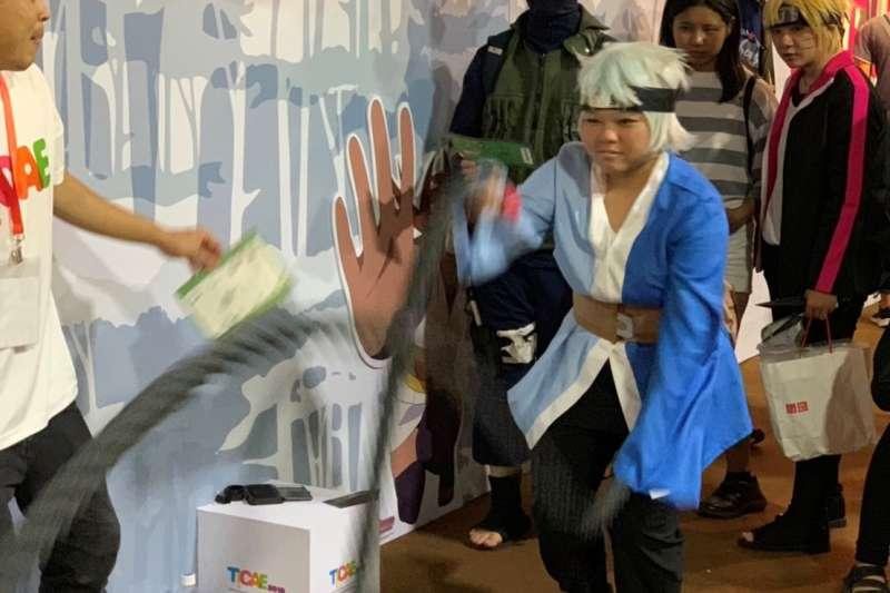 2019台中國際動漫博覽會」,獨家邀請《火影忍者》第二代《BORUTO慕留人》首次到日本海外舉辦特展,吸引許多動漫迷參加。(圖/台中市政府提供)