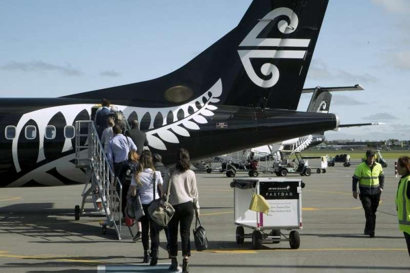 紐西蘭統計局(Stats NZ)9日公布年度統計數據,顯示旅客人數成長率是自2013年以來最低。(美聯社)