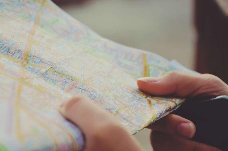 20190812-地圖、旅遊、旅行、地名。示意圖。(取自Free-Photos@pixabay/CC0)