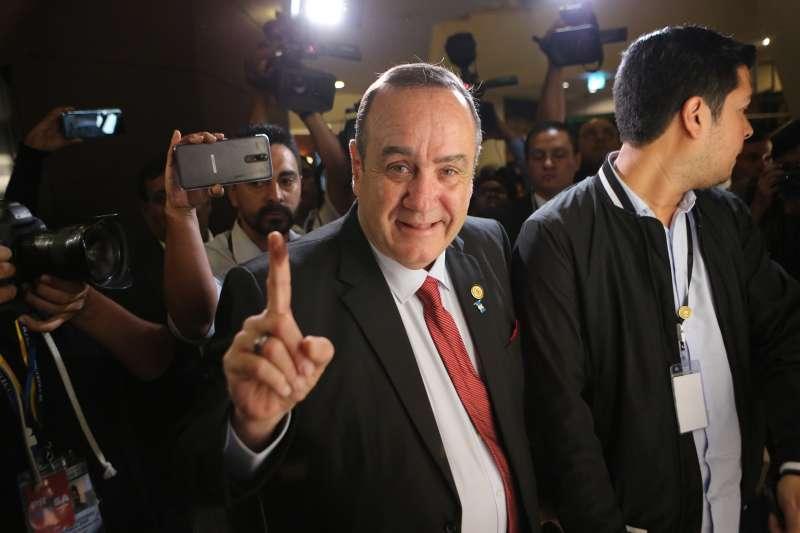 瓜地馬拉總統賈麥岱(資料照,AP)