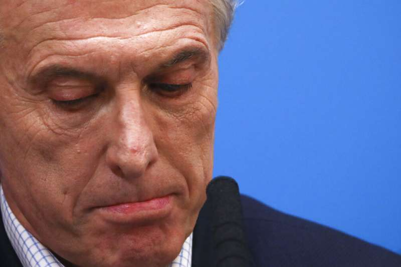 阿根廷11日舉行總統初選,現任總統馬克里得票不如預期。(美聯社)
