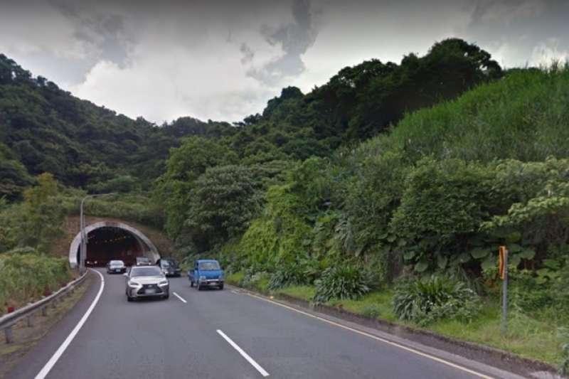 20190813-萬里隧道。(取自新北市政府警察局)