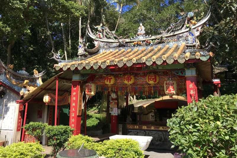 大墓公、大眾爺是台灣非常重要的民俗信仰。芝山岩同歸所(圖/維基百科)