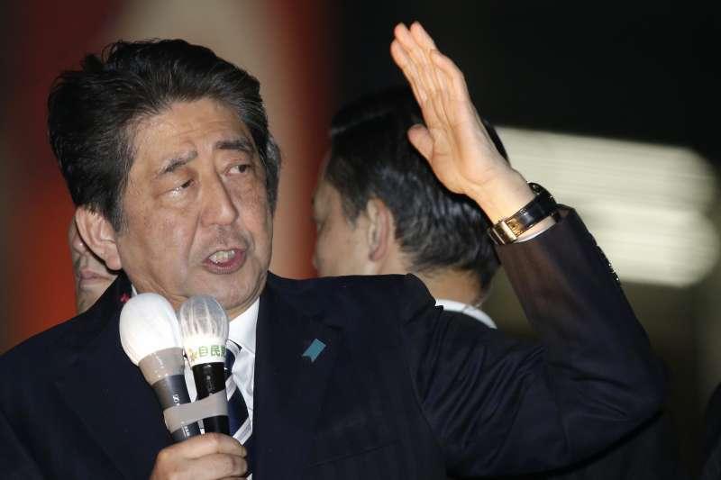 「森友學園弊案」一度重創安倍政權形象,但因有力證據不足,大阪地方檢察廳特搜部近日再度宣布不起訴。(AP)