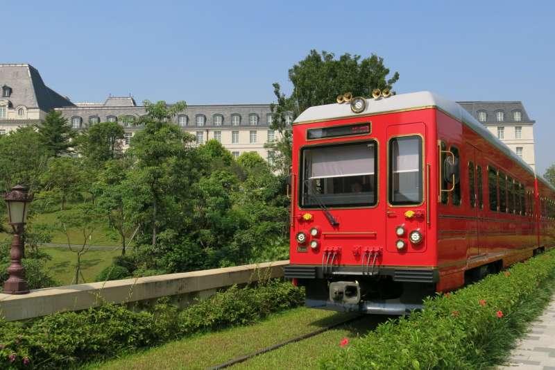 華為開發者大會,小火車