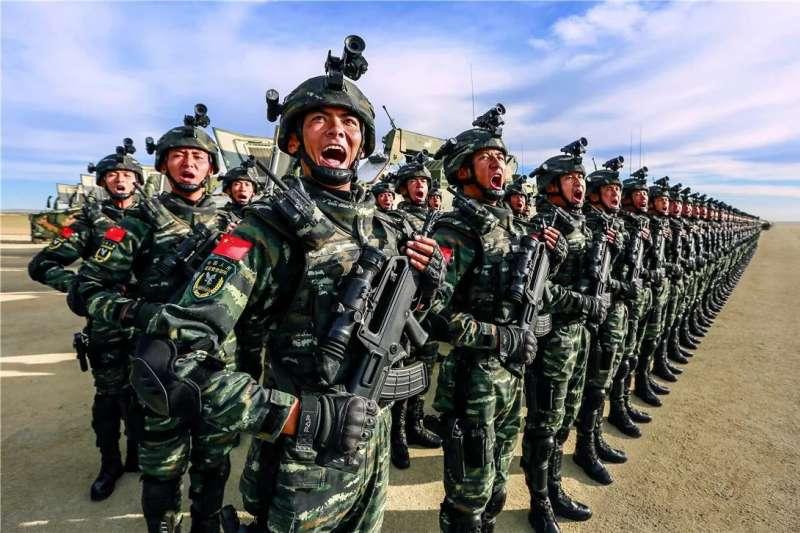 中國武警部隊(取自網路)