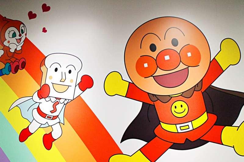 麵包超人與他的夥伴吐司超人。(圖/作者提供)