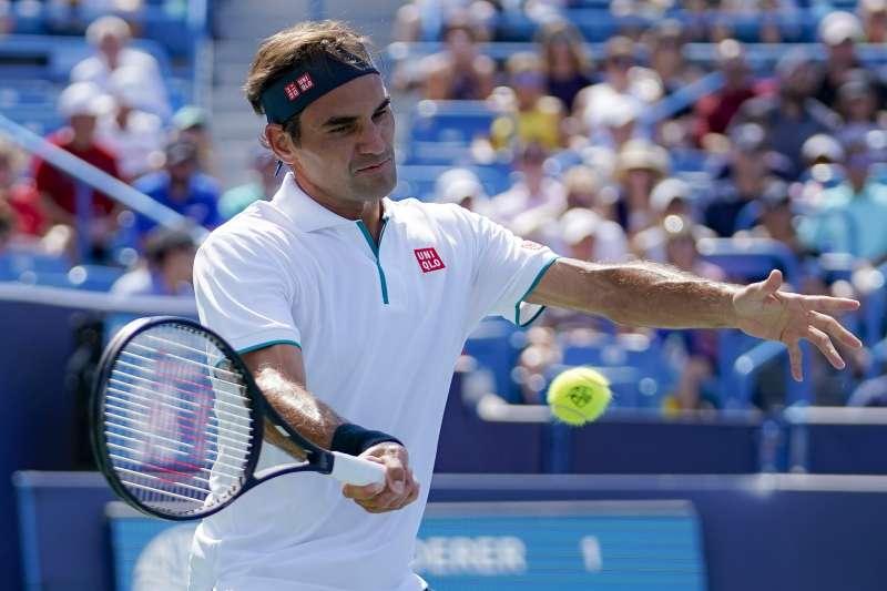 費德勒(Roger Federer)在辛辛那堤大師賽爆冷出局。(美聯社)