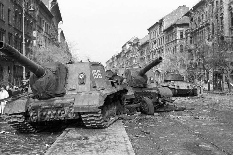 1956年匈牙利革命(FORTEPAN / Nagy Gyula@Wikipedia / CC BY-SA 3.0)