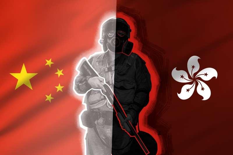 香港警察:港人眼裏的「黑警」,中國內地人心目中的「英雄」(BBC)