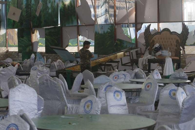 2019年8月17日,阿富汗首都喀布爾發生婚禮恐怖攻擊,死傷慘重(AP)