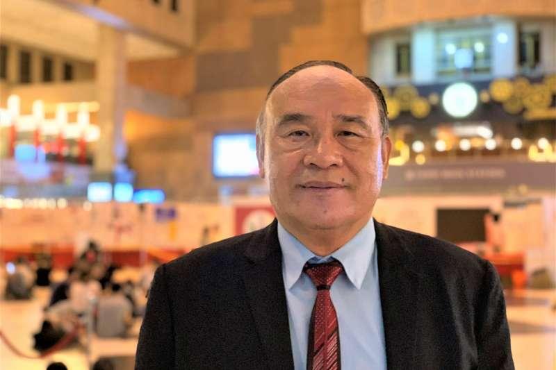 台灣首任宗教自由大使布興.大立(簡恒宇攝)