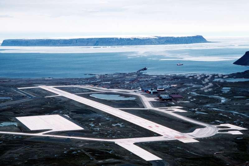 格陵蘭島美軍「土勒空軍基地」(Thule Air Base)(Wikipedia / Public Domain)