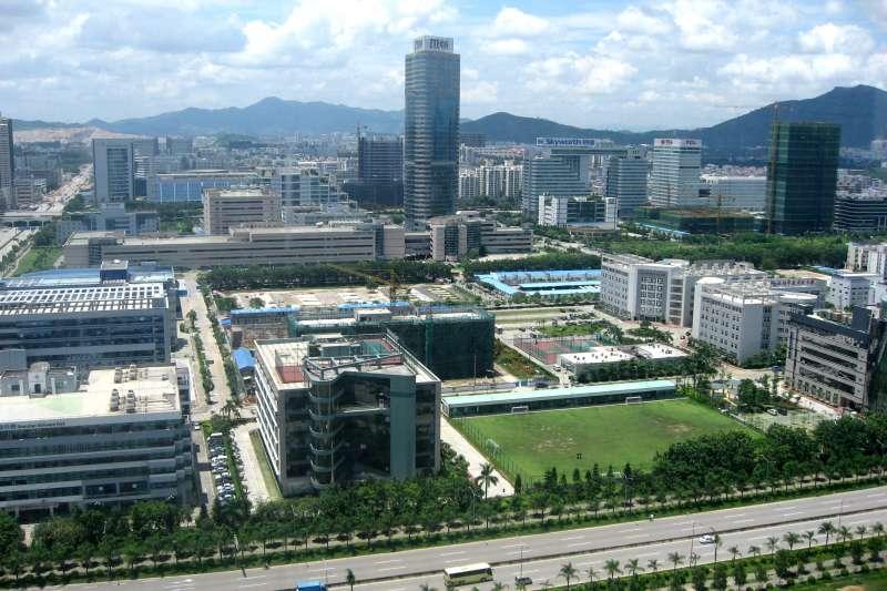 深圳科技園(Wikipedia / 公有領域)