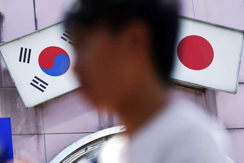 日韓關係、日韓貿易戰。(美聯社)