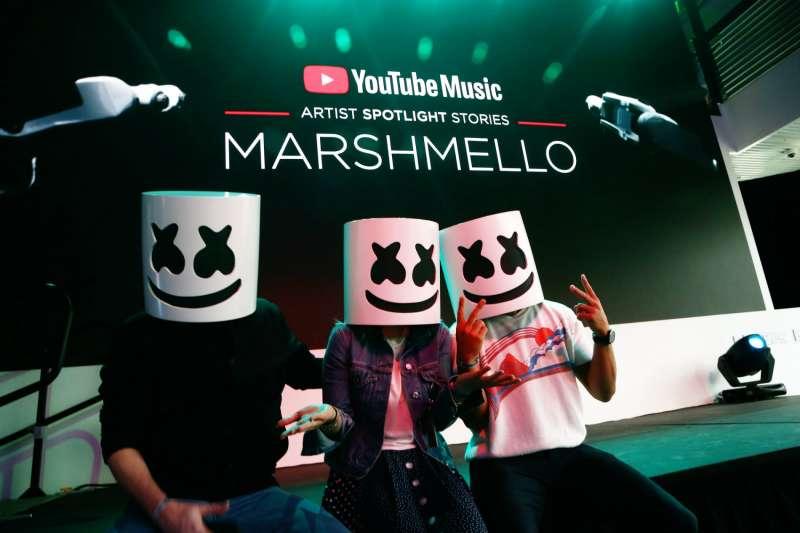 今年 6 月,YouTube Music 在加州舉行宣傳活動。 圖片來源:Tommaso Boddi/Getty Images for YouTube Music